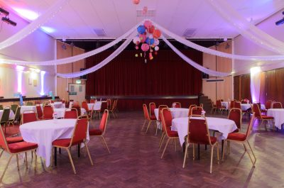 Main Hall - Evening Wedding Reception