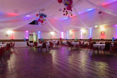 Main Hall - Evening Wedding Reception