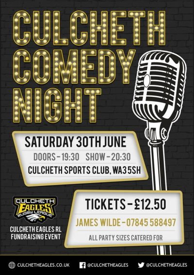 Culcheth Comedy Night