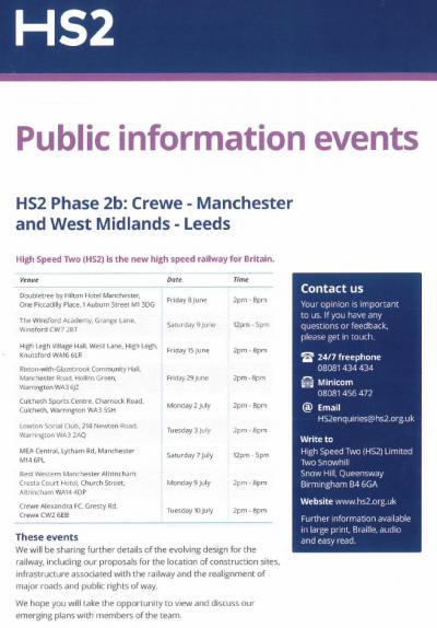 HS2 Public Information Event