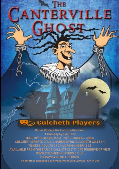 Culcheth Players Canterville Ghost