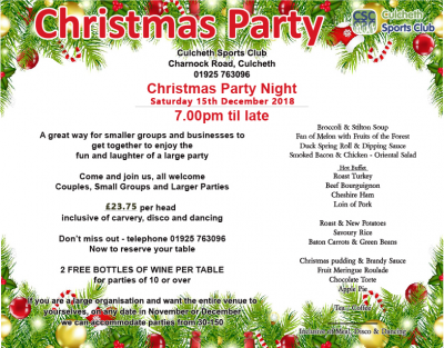 Christmas Party.