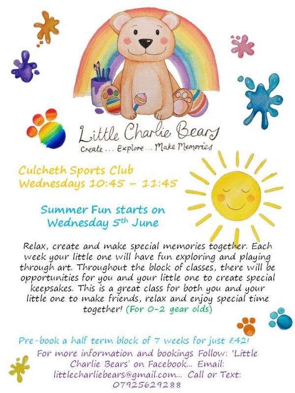 Little Charlie Bears Summer Fun