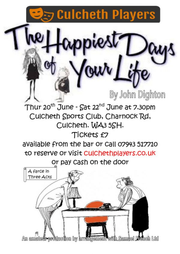Culcheth Players Poster