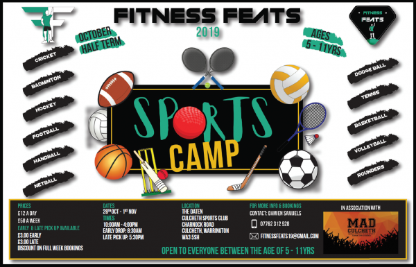 Sports Camp Half Term 2019