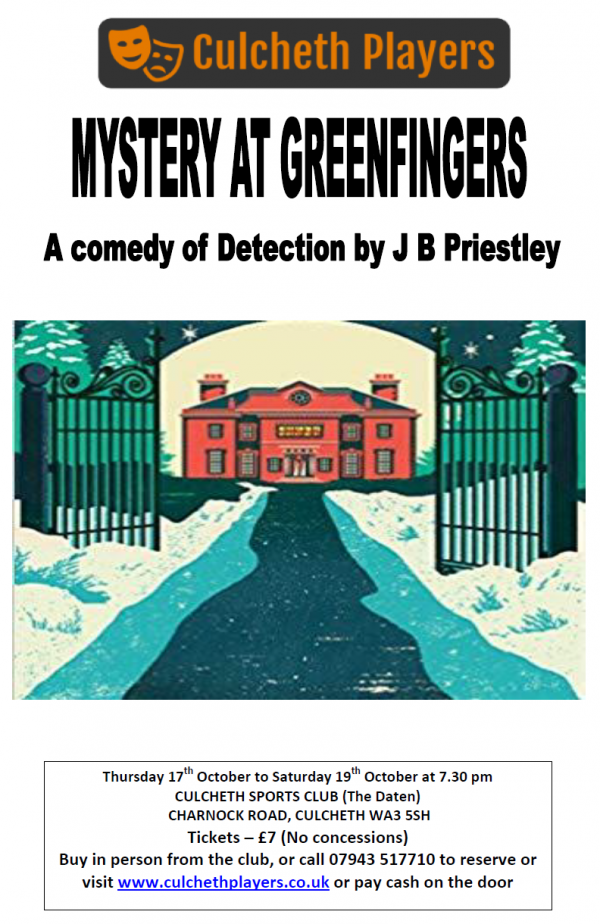 Culcheth Players - Mystery at Greenfingers