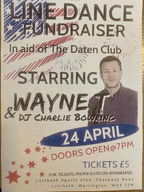 Line Dance Fundraiser